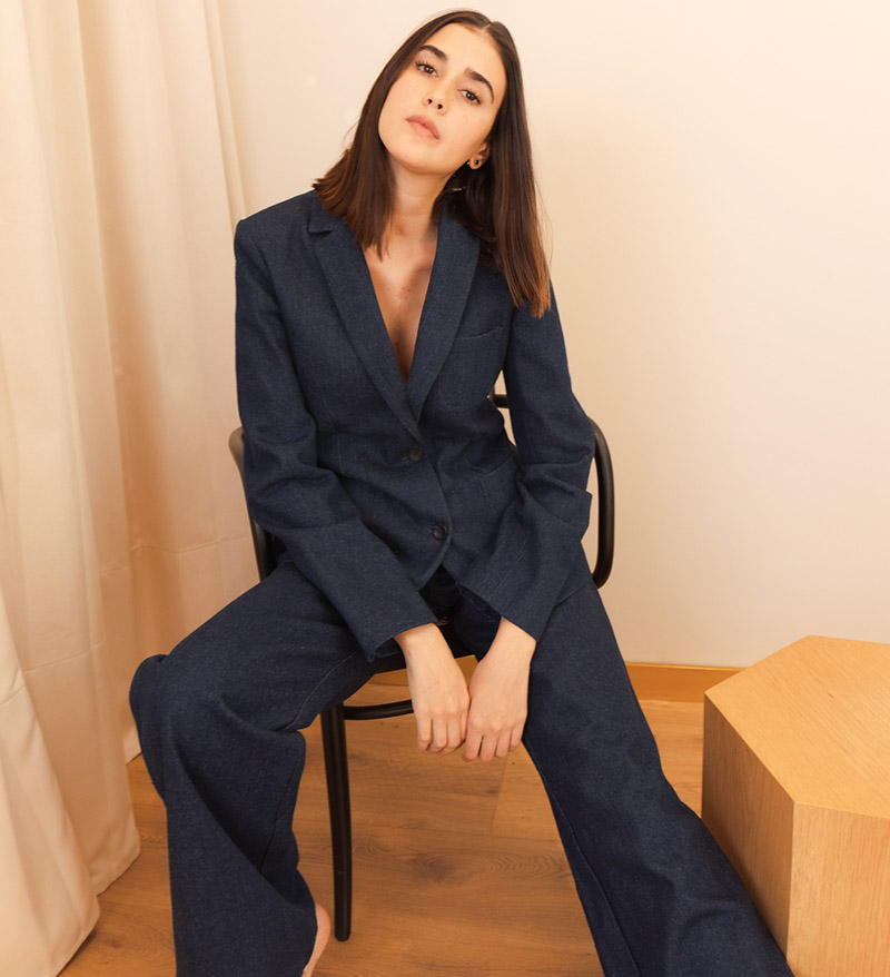 Renata Lozano Denim Suit